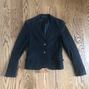 Theory Black blazer sz 4